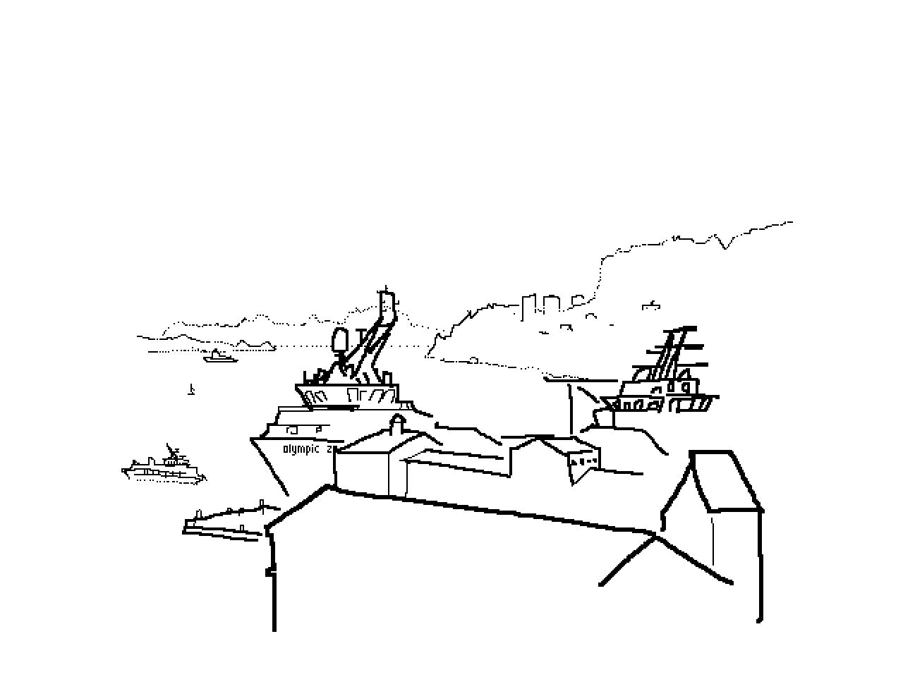 #1157 Bergen Harbour