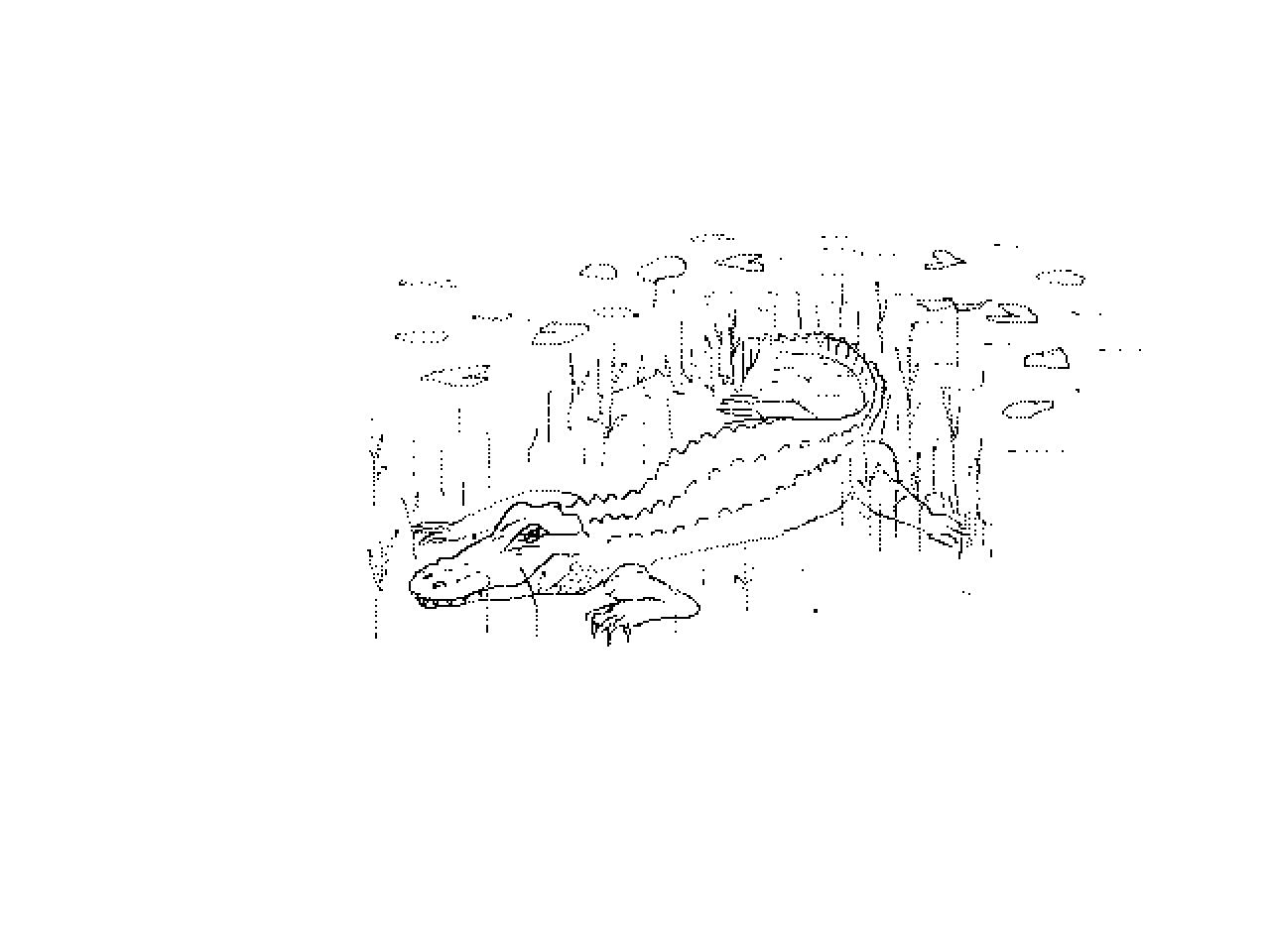 #1220 Alligator